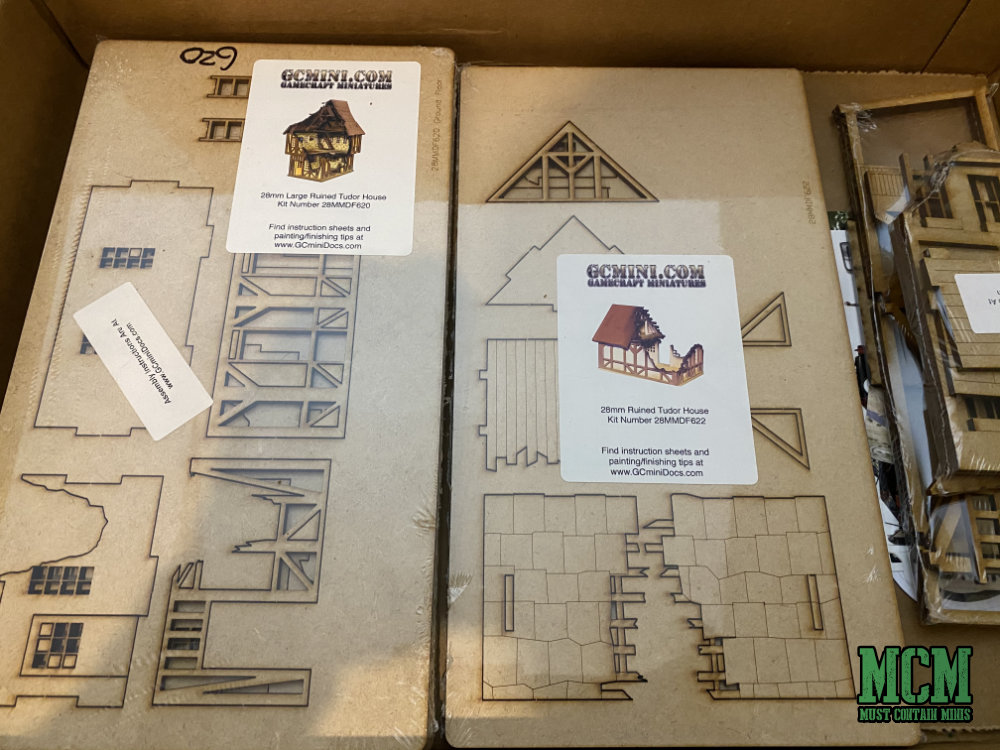 Gamecraft miniatures delivery for review