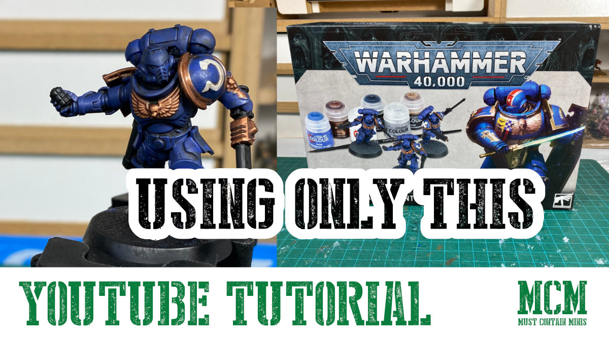 How to Paint Space Marines YouTube Video