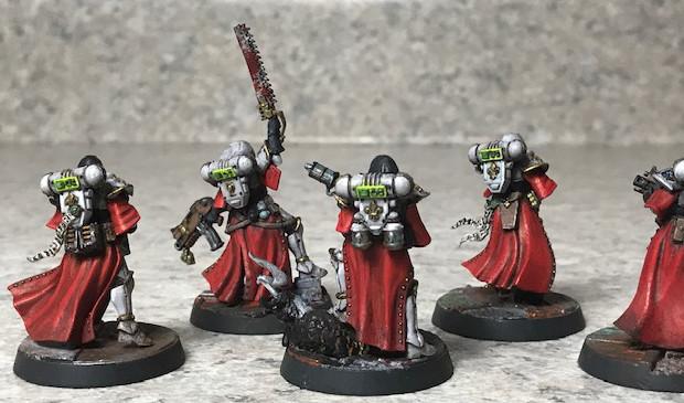 Battle Sisters miniatures
