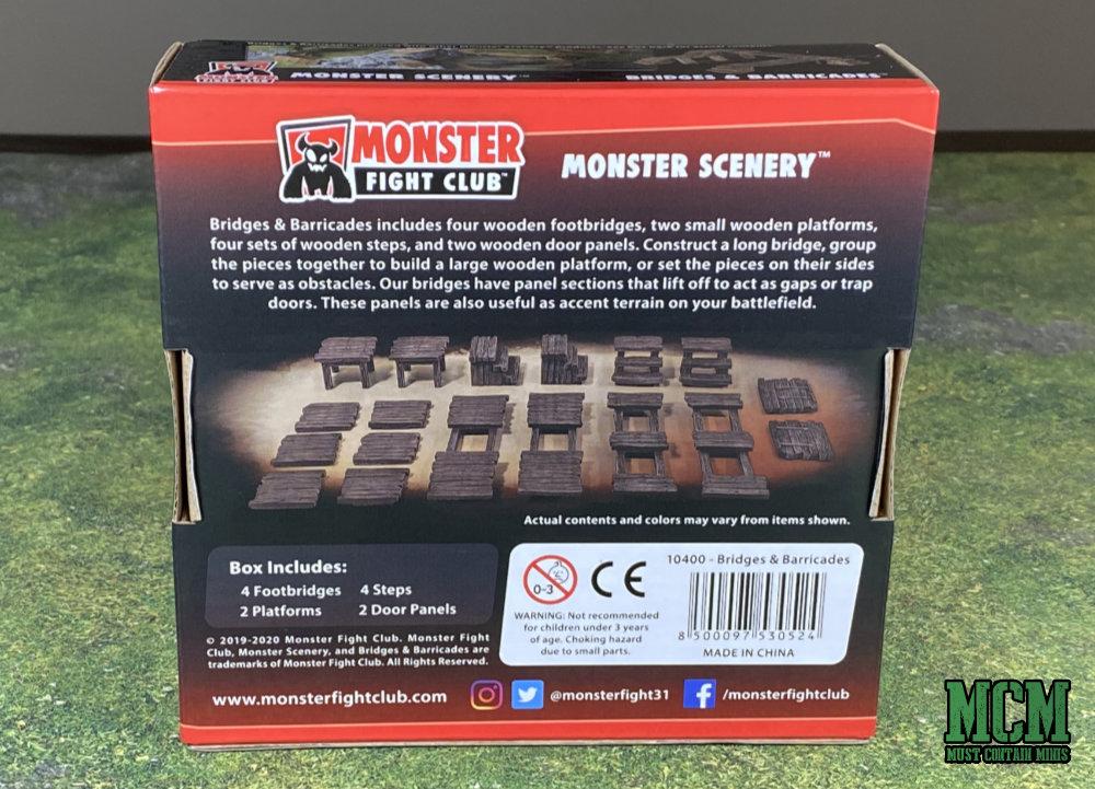 Back of the Monster Scenery Bridges & Barricades