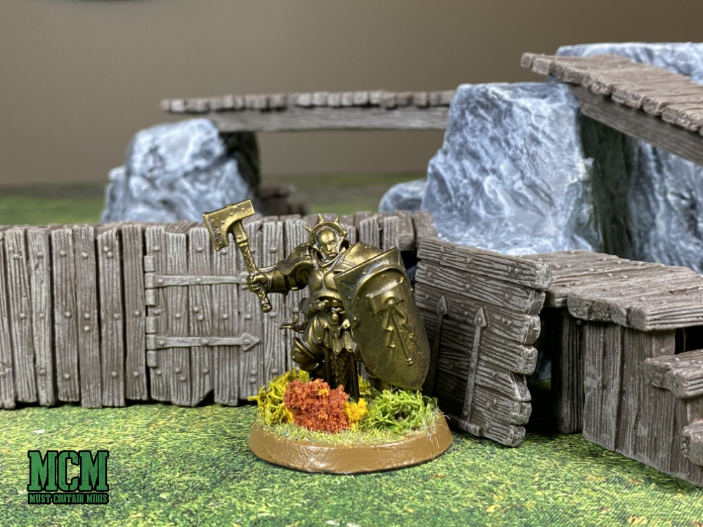 Scale Comparison - Monster Scenery to Games Workshop Age of Sigmar