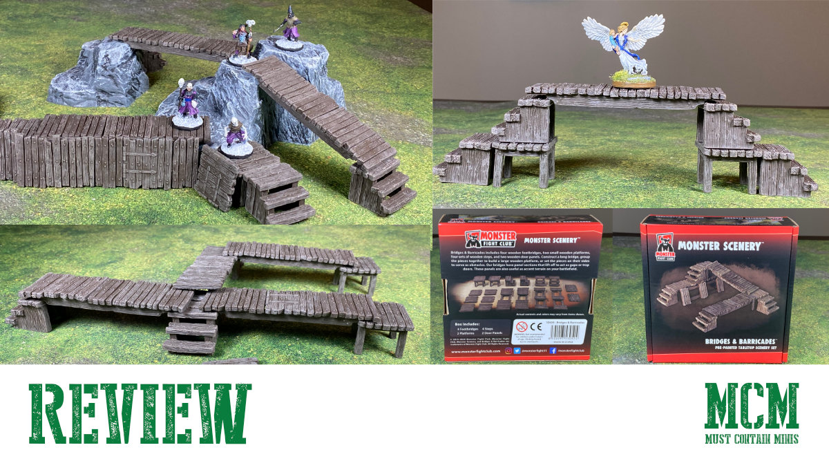 Monster Scenery Terrain Review – Bridges & Barricades