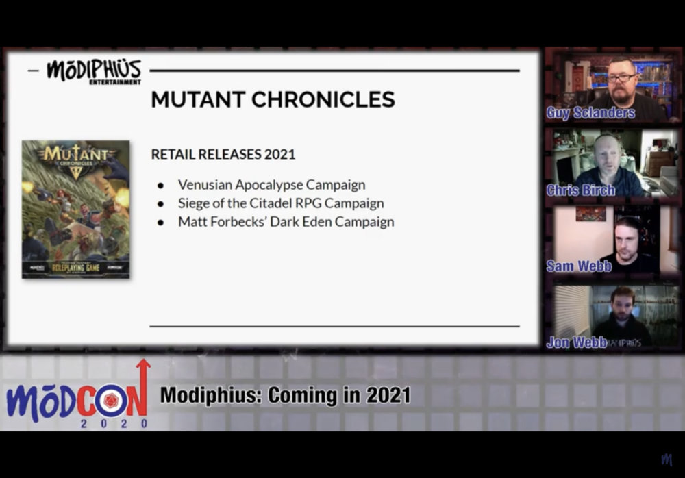 2021 Mutant Chronicles releases