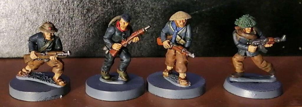 28mm Vietcong miniatures by Crucible Crush.