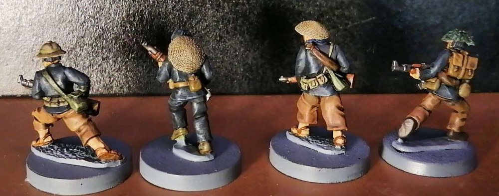 28mm Vietcong Miniatures for historical and sci-fi wargaming