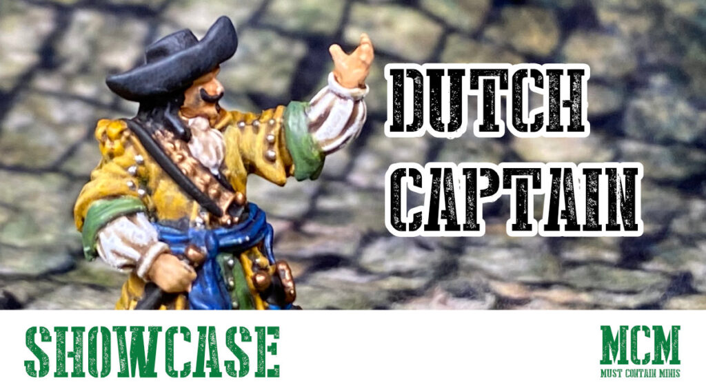 Painted Dutch Captain Showcase – Blood & Plunder
