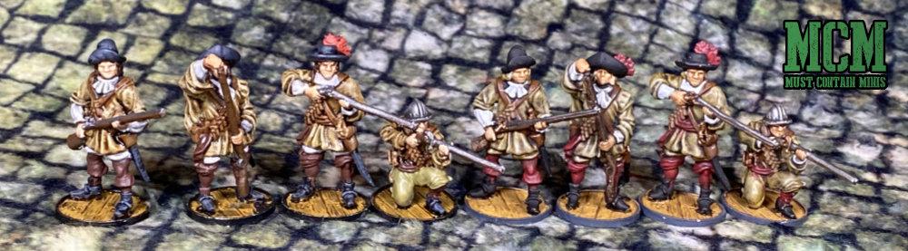 Dutch Militie Miniatures by Firelock Games