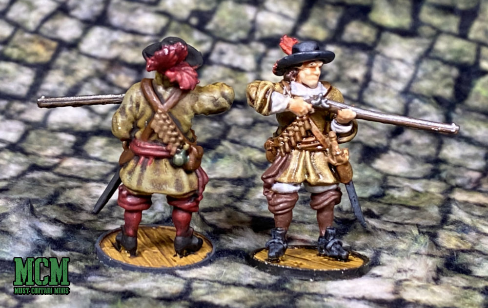 Painted Dutch Miniatures 16th and 17th Century.