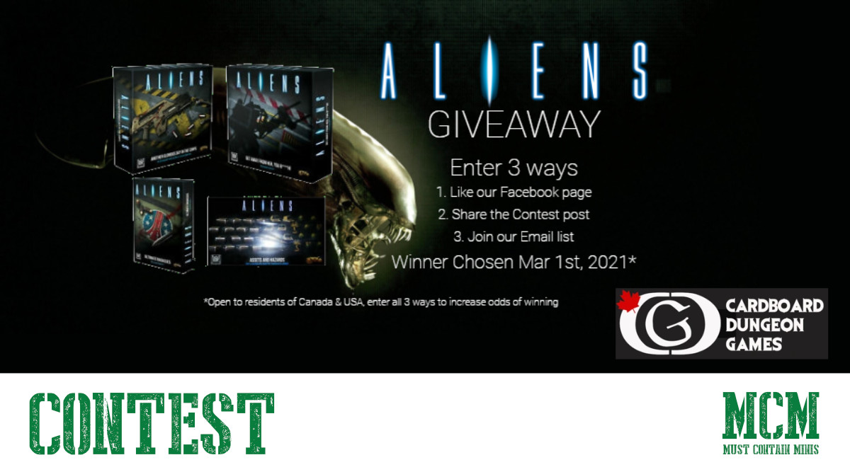 Aliens Board Game Giveaway
