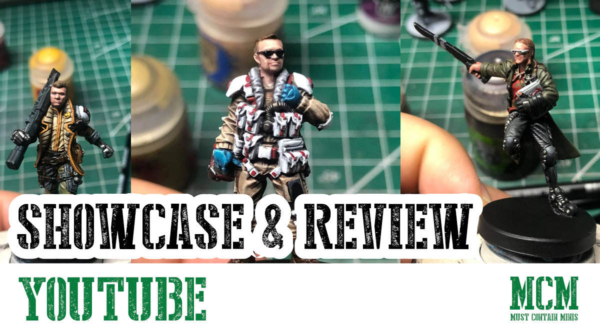 Review of Cyberpunk Red Miniatures by Monster Fight Club
