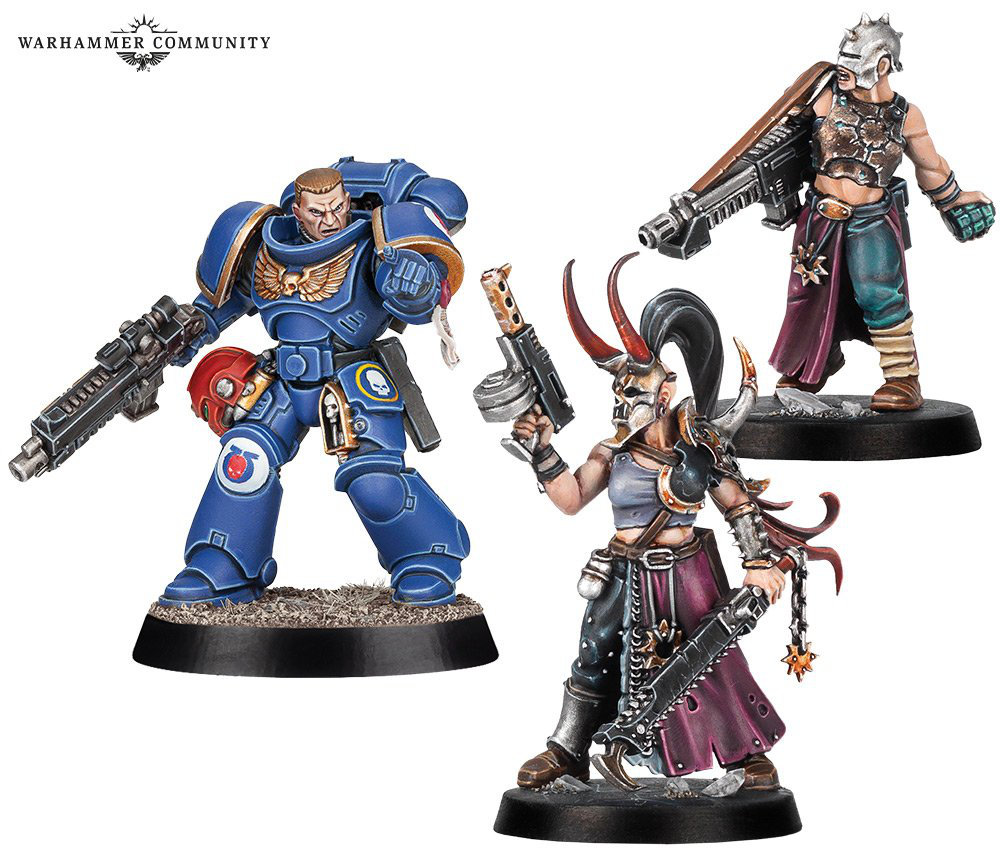 Space Marine Adventures - Doomsday Countdown miniatures have me looking into GW again