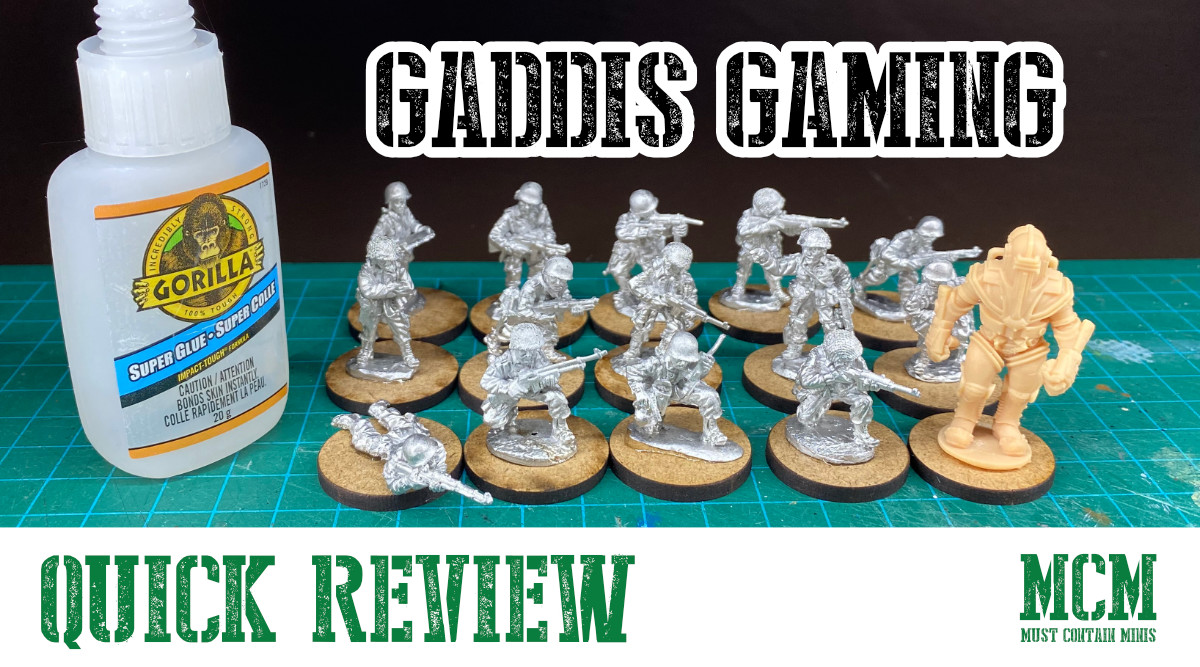 Quick Review – WW2 Miniatures by Gaddis Gaming