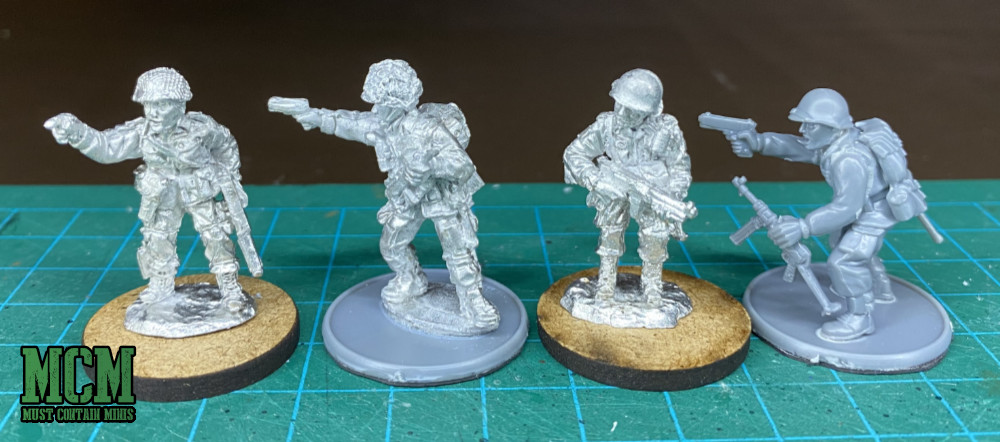 Scale Comparison Gaddis Gaming To Warlord Games