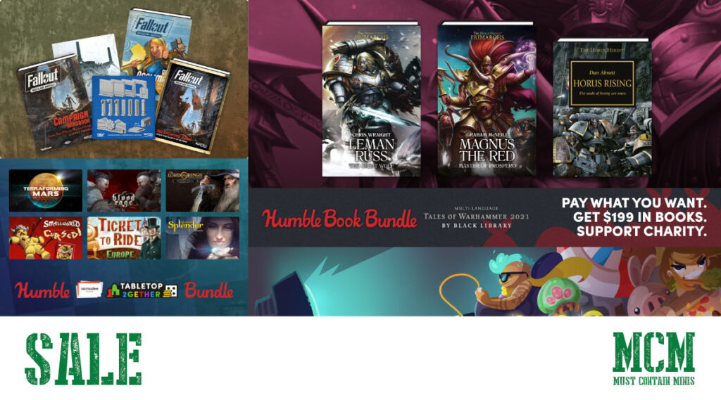 Huge Sales at Humble Bundle