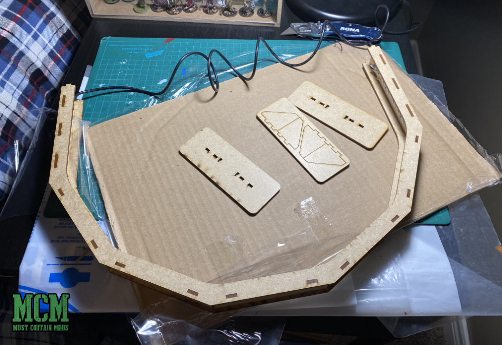 Building my GameCraft Miniatures LED Light for Miniature painting