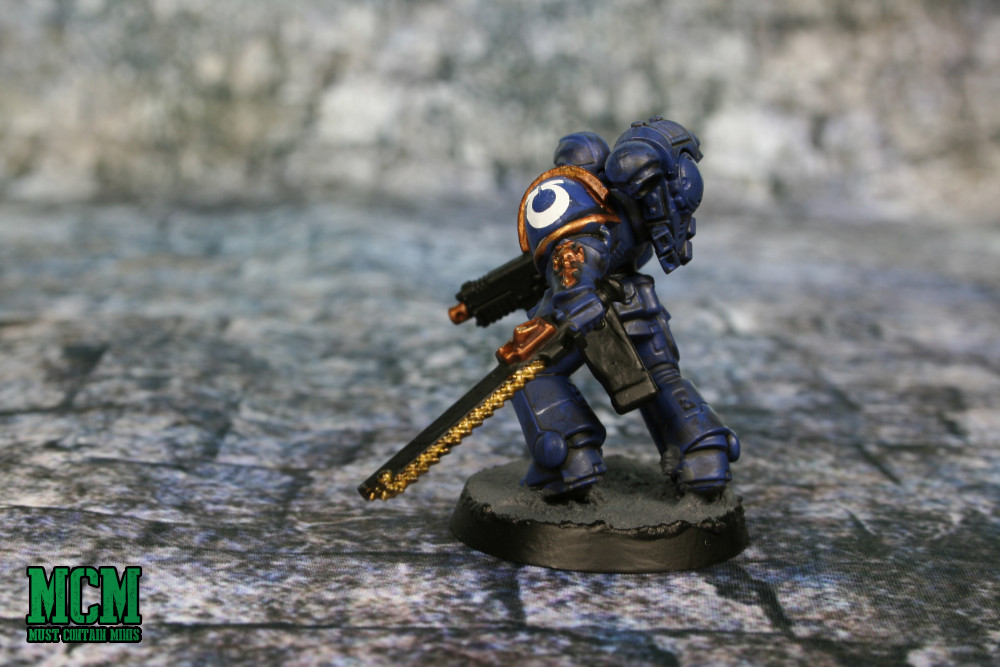 Painted Assault Intercessor Miniature
