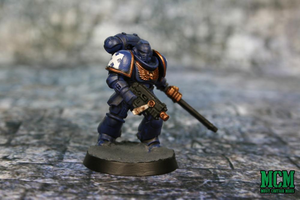 Painted Space Marine Miniature