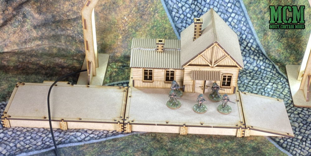 28mm train station review