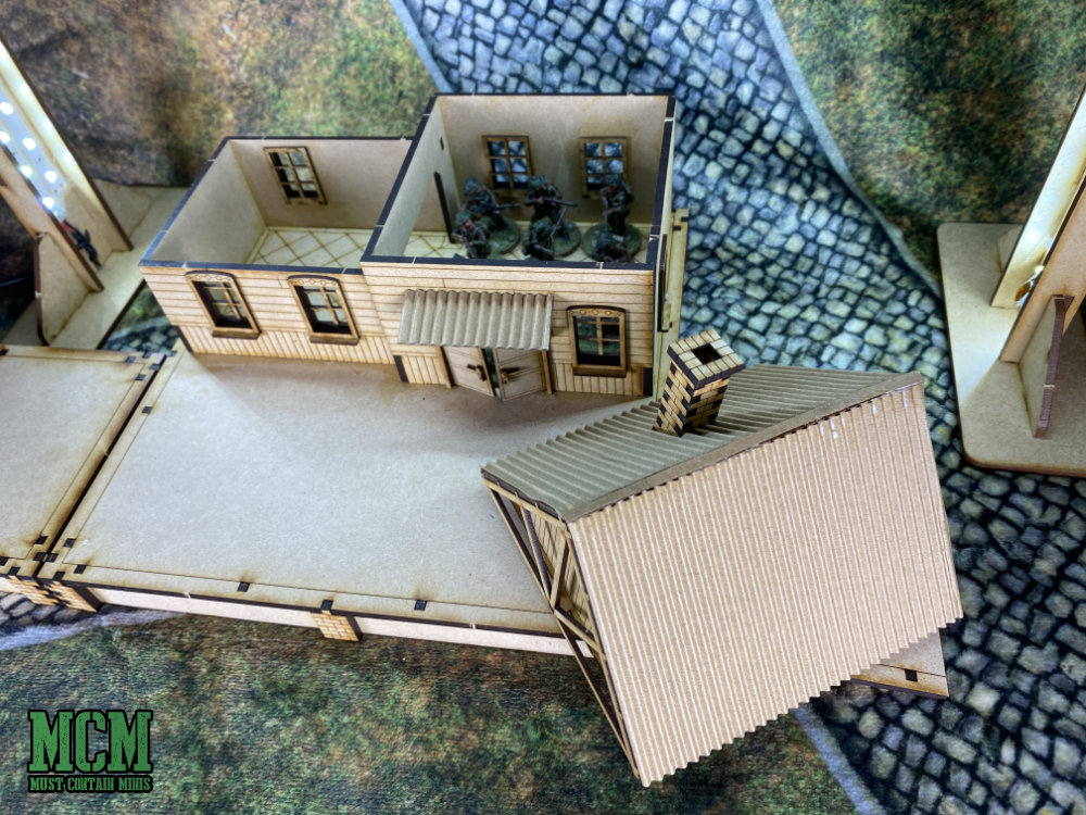 Terrain Review - 28mm train station review