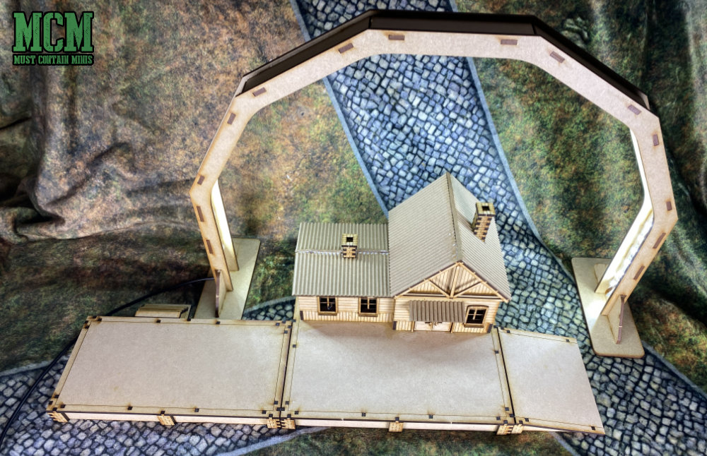28mm train station review - Soviet Union MDF Terrain for WW2 - Bolt Action