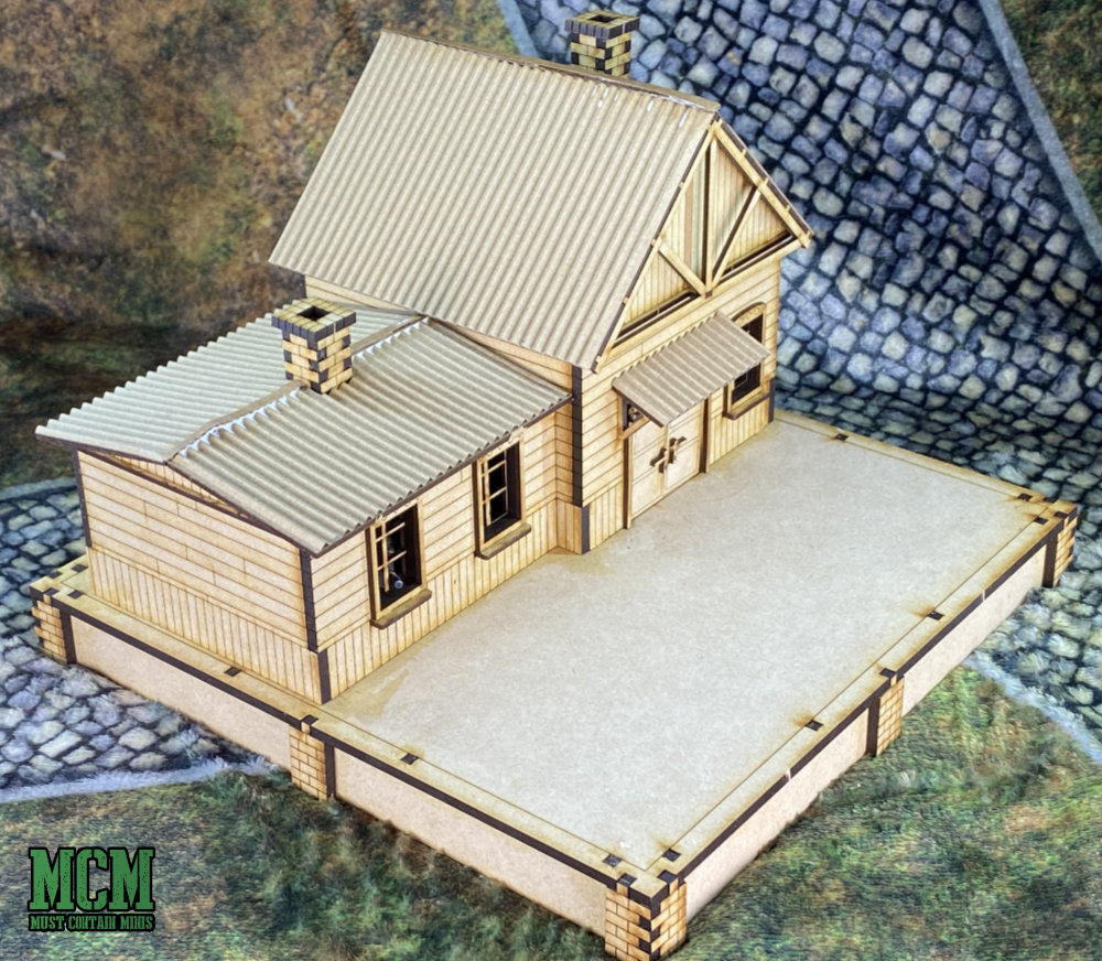 28mm train station review for Bolt Action and other WW2 games.