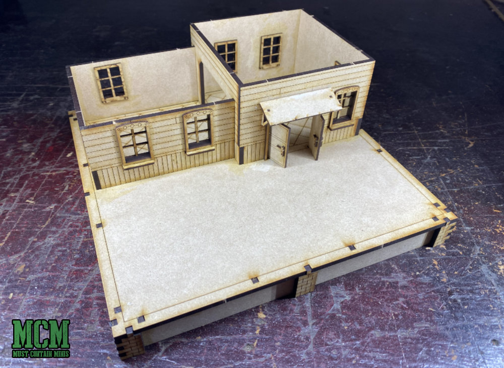 28mm train station review - Things from the Basement