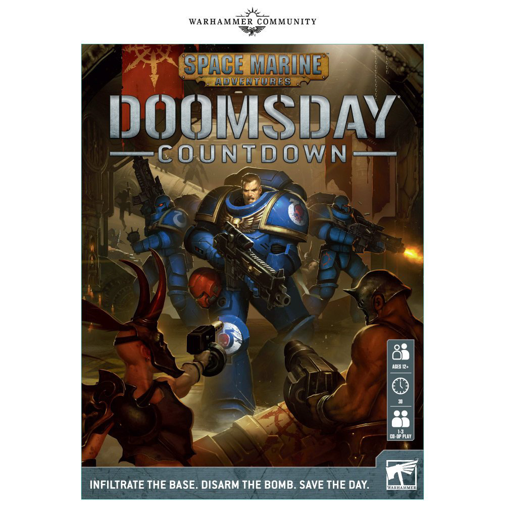This game has me looking into GW again. It looks Awesome!!! Space Marine Adventures Doomsday Countdown