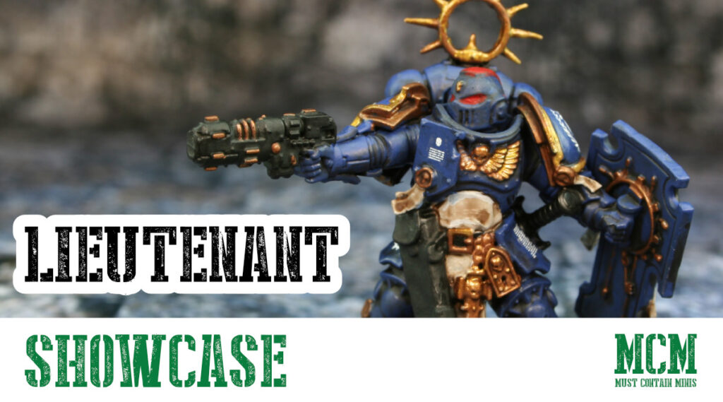 Painted Primaris Lieutenant – Miniature Showcase