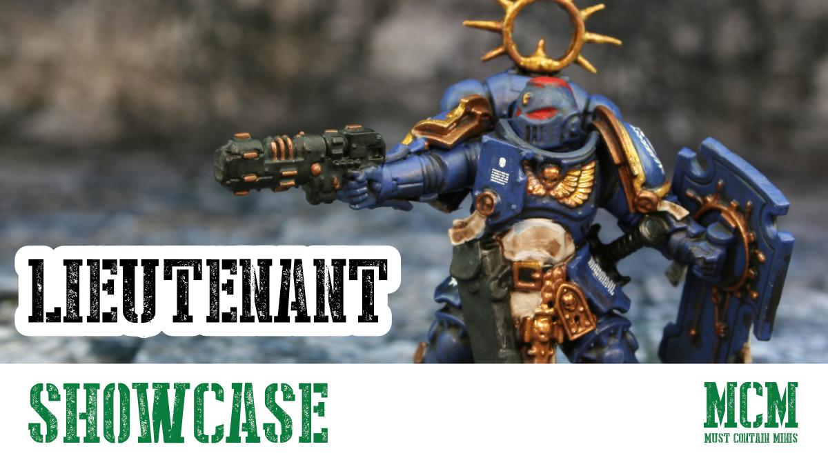 Painted Primaris Lieutenant – Miniature Showcase