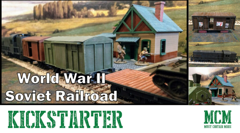 Kickstarter Announcement – WW2 Soviet Railroad