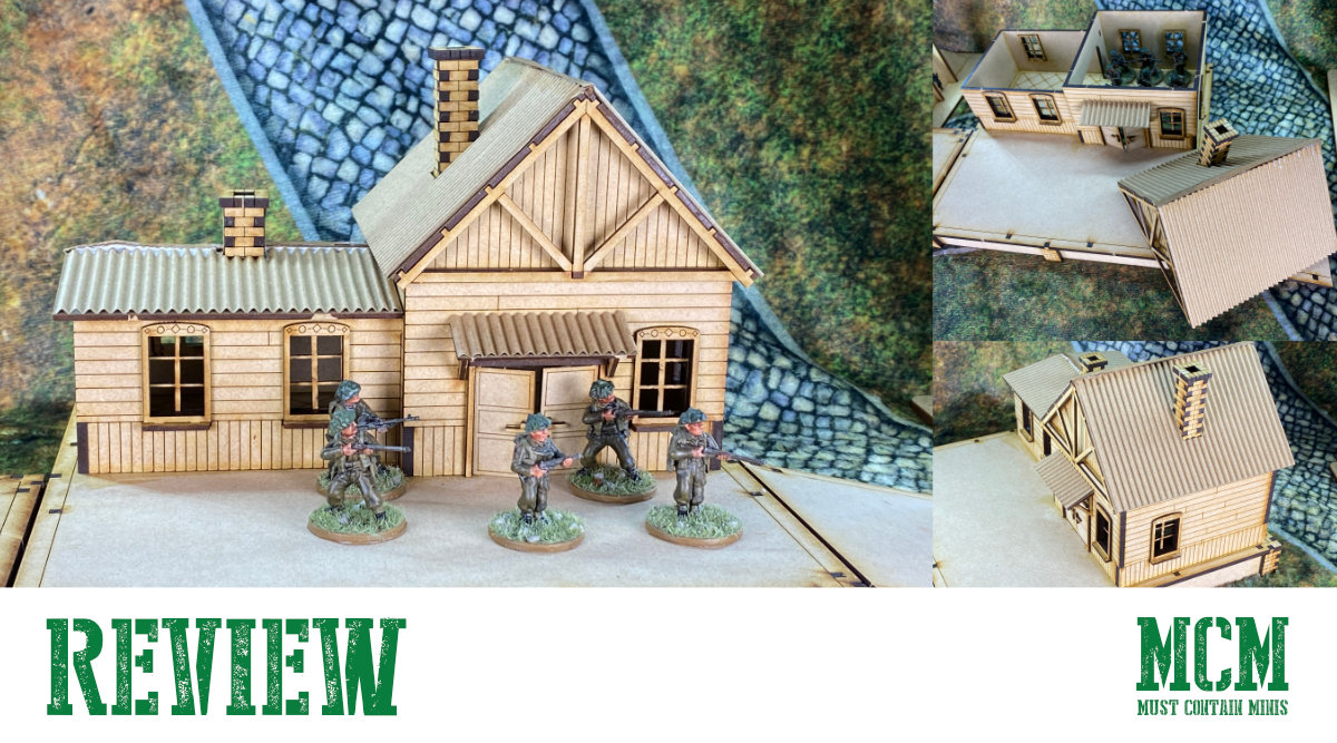 28mm Train Station Review – WW2 Wargame Terrain