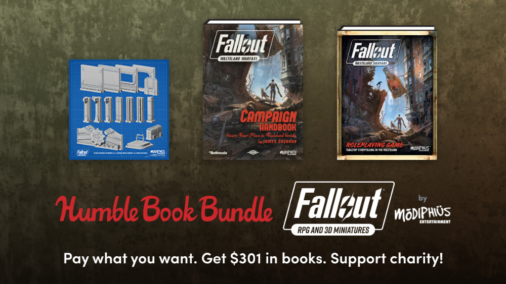 Huge Sales at Humble Bundle - Sale on Fallout the Miniatures Game. STL files and PDFs