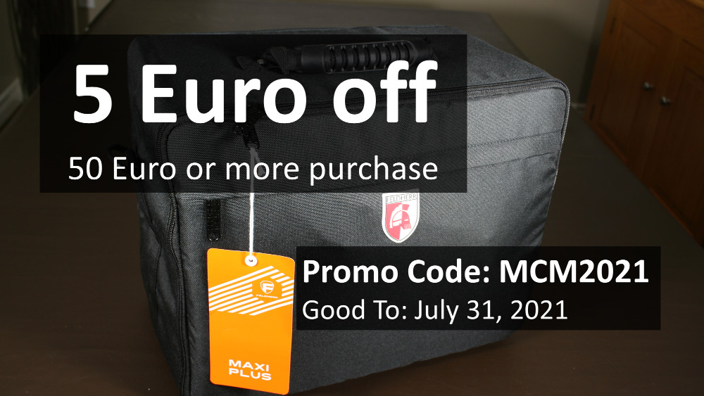 Coupon Code for money off a miniatures carrying case.