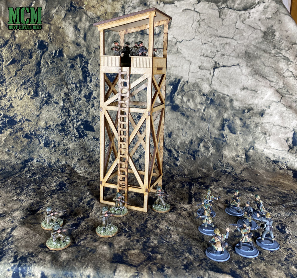 28mm Guard Tower Review for Bolt Action.