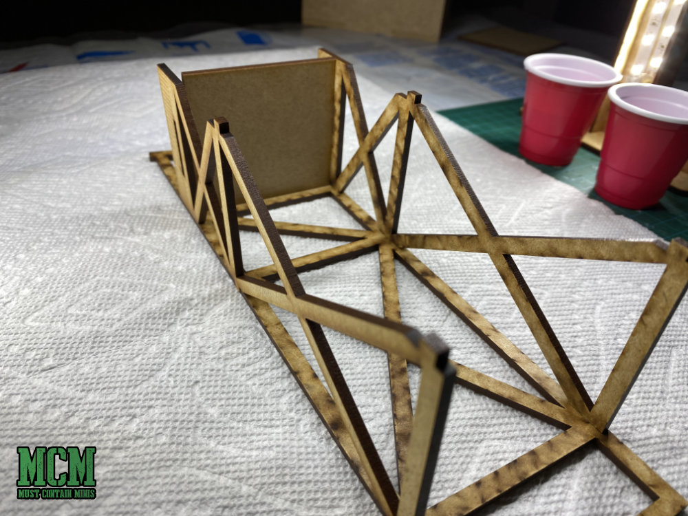 Building a 28mm Guard Tower by Gamecraft Miniatures