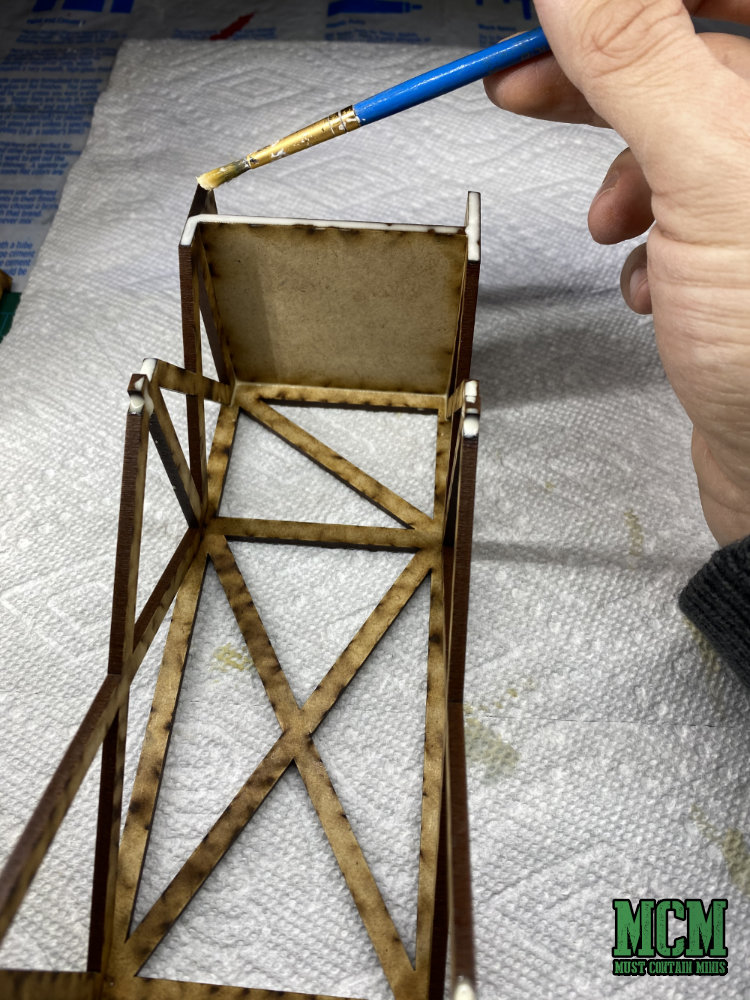 Building my MDF Terrain Model. How to glue together your gaming scenery.