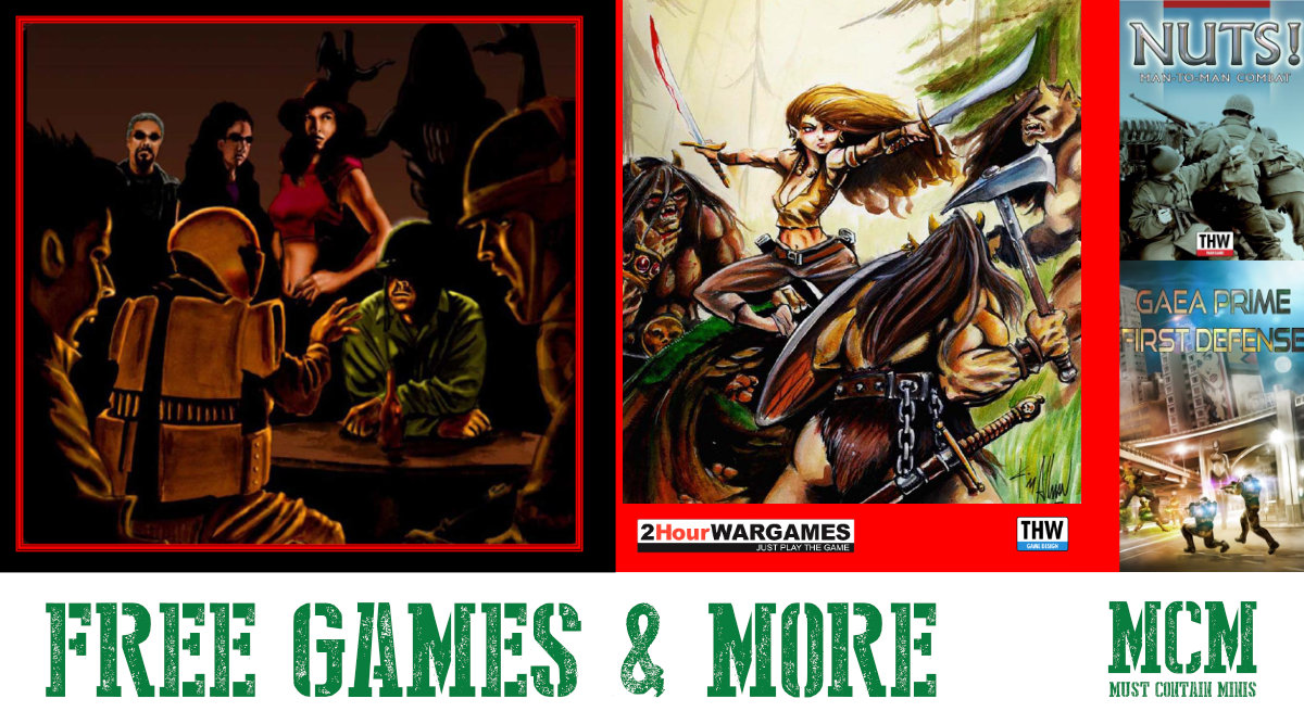 Have you Heard of Two Hour Wargames? Free Wargame Rules!!!