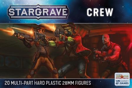 Stargrave Crew Plastic Miniatures