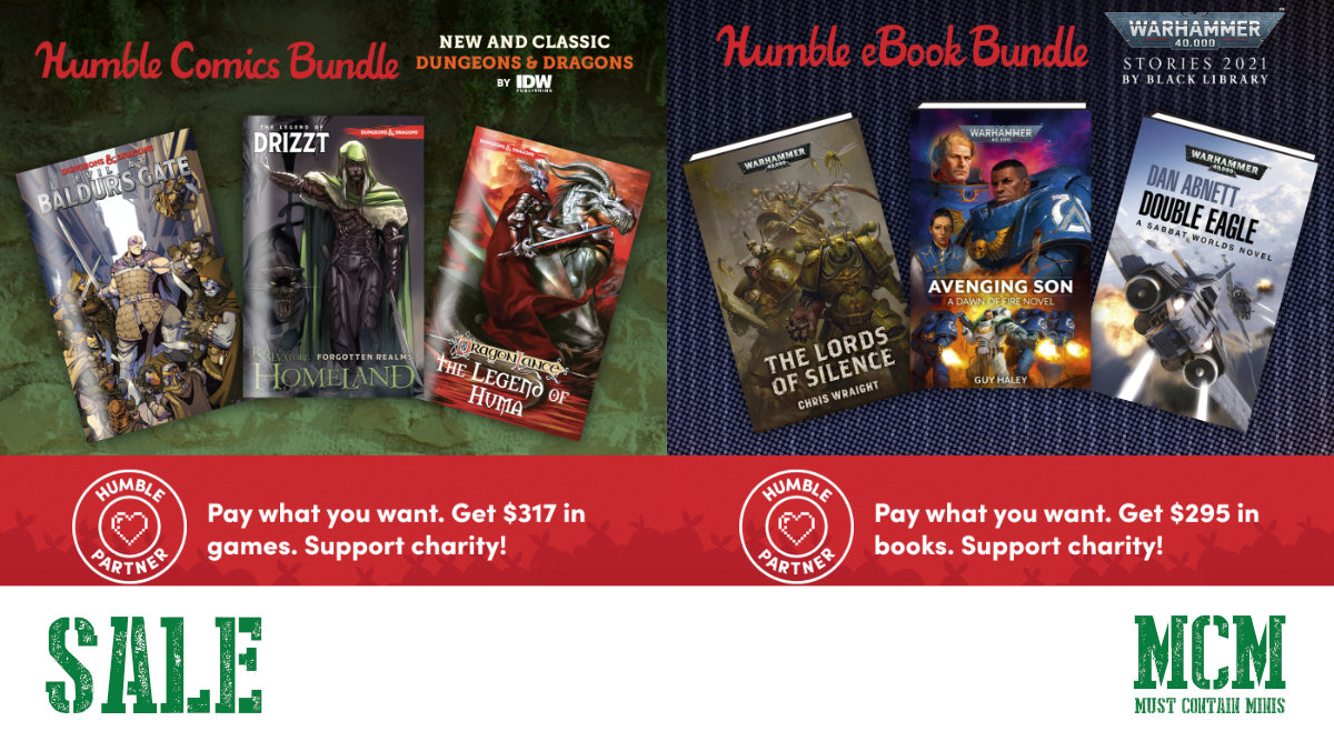 April to Early May 2021 – Humble Bundle Sale