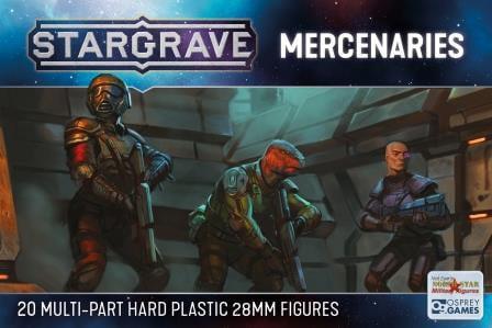 Plastic Sci-Fi mercenaries