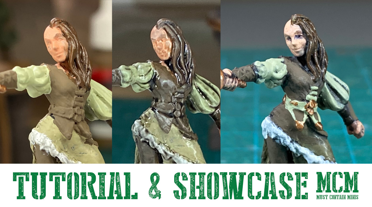 How to Paint a Miniature for Role Playing Games
