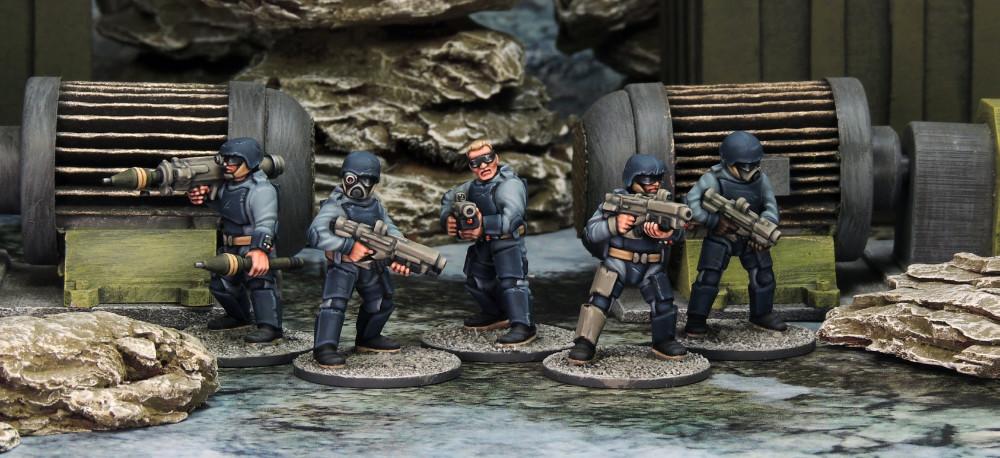 Stargrave Kickstarter Trooper miniatures