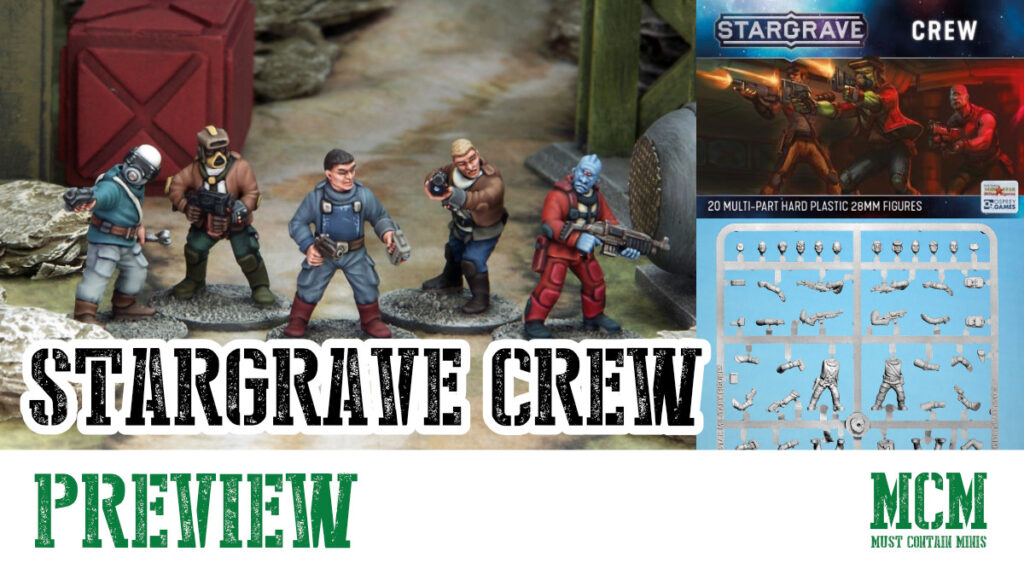 Stargrave Crew Miniatures Preview