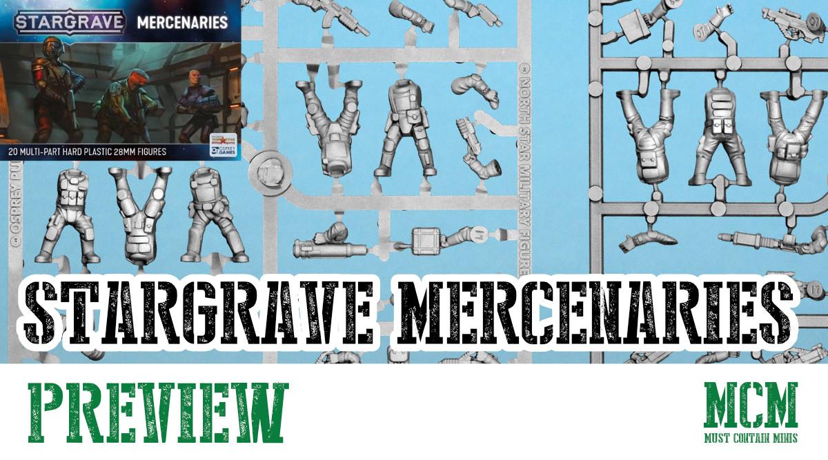 Stargrave Mercenaries Miniatures Preview