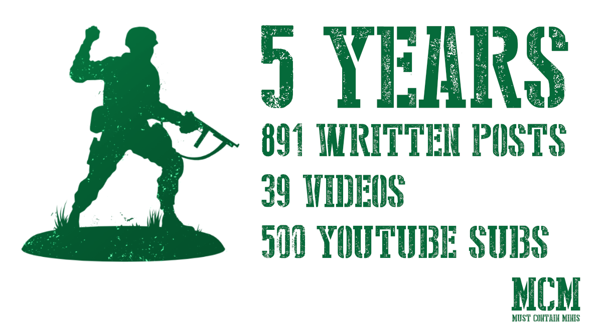 5 Years – 891 Written Posts – 39 Videos – Thousands of Pictures