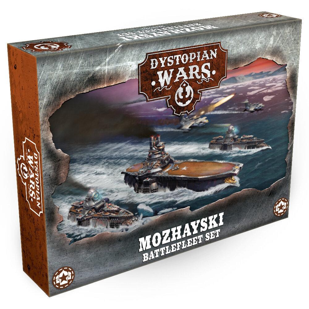Dystopian Wars Mozhayski Battlefleet Set Artwork - Aircraft in Dystopian Wars