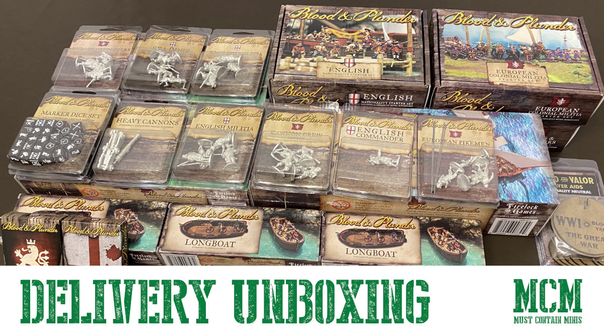 Unboxing a Pirates Haul of Blood & Plunder
