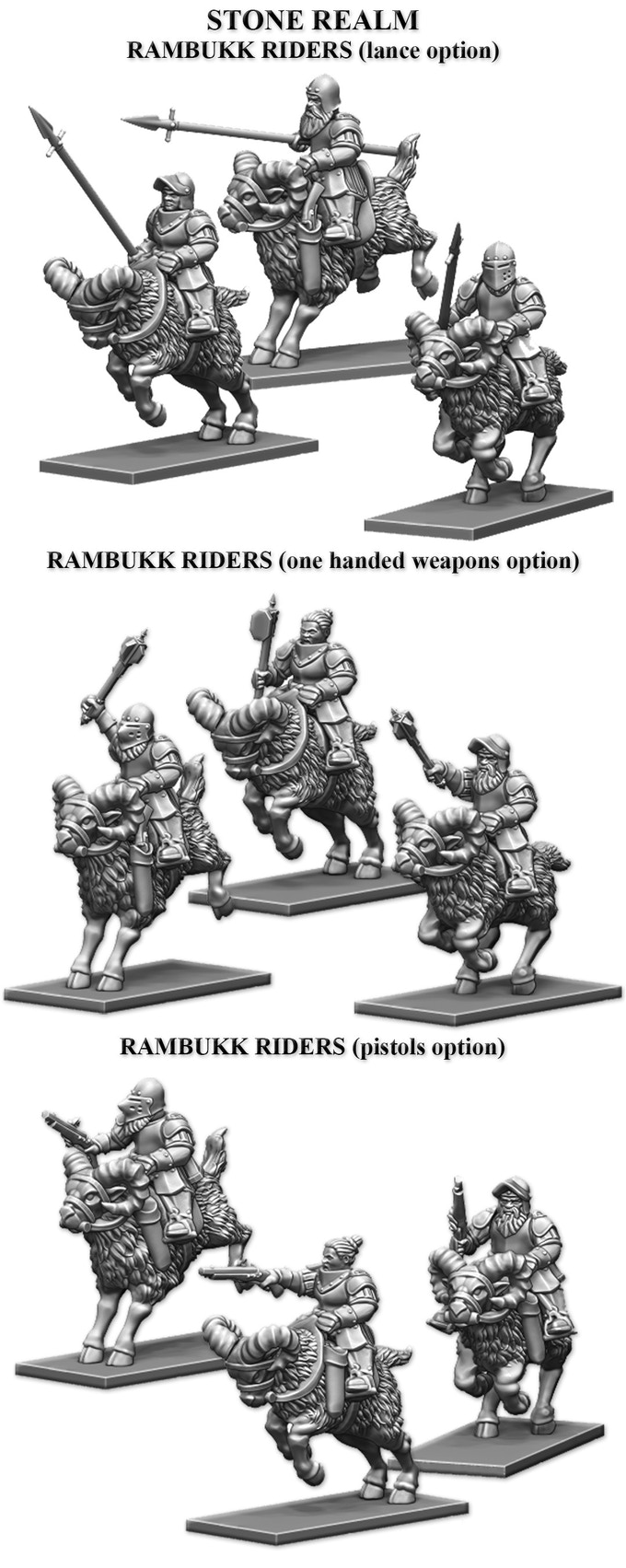 Dwarf Cavalry from Fireforge Games