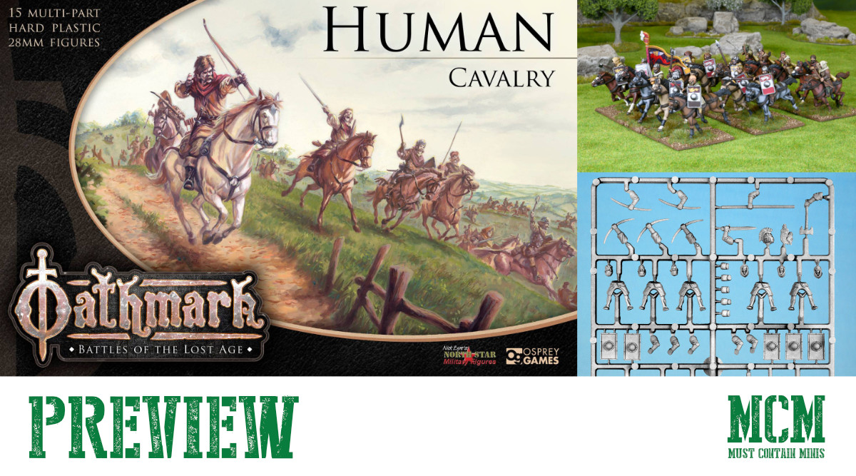 Oathmark Human Cavalry Preview