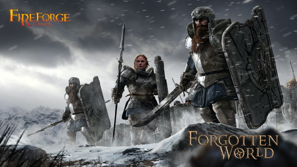 Stone Realm Dwarves from Fireforge Games